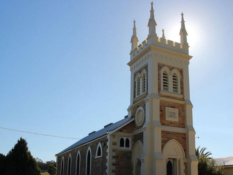Gnadenfrei Lutheran Church Marananga, Seppeltsfield Road