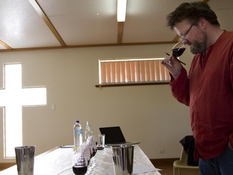 Marananaga Wine Show - Wine Show Judging
