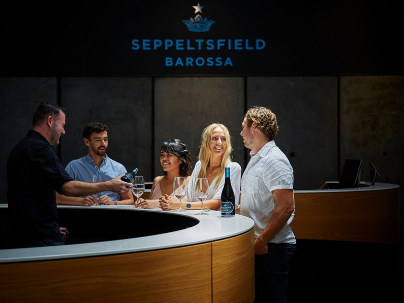 Seppeltsfield Winery - tasting room